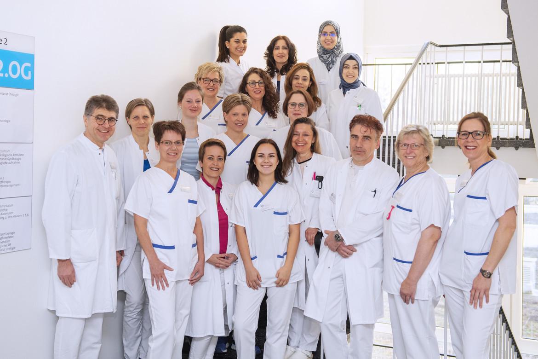 Das Team der Frauenklinik im St.-Antonius-Hospital Kleve.