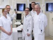 Chefarzt Dr. Klaus-Dieter Fluch und die Oberärzte der Klinik für Urologie.