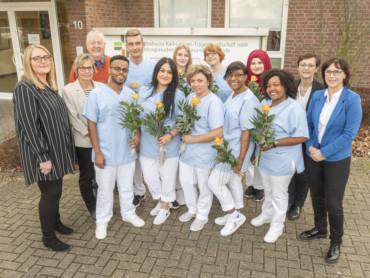 BAG: Die Absolventen der Krankenpflegeassistenz 2019.
