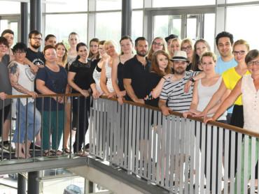 Absolventen des Fachseminares für Altenpflege 2018