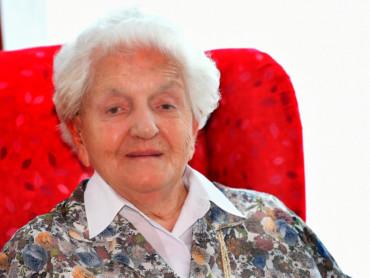 Kleves älteste Bürgerin: Elisabeth Fonk wird 105 Jahre alt.