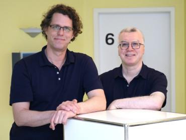 Philipp Hachmann und Aliasghar Eskandari (v.l.) sind die neuen Ärzte in der kardiologischen Schwerpunktpraxis des MVZ Cleverland.