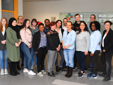 Absolventen 2018 der Ausbildung zur Pflegeassistenz