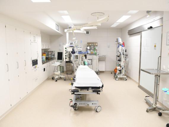 Blick in den hochmodernen Schockraum des St.-Antonius-Hospitals.