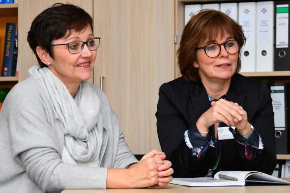 Andrea Huisman und Anett Jaschner im Interview zur Krankenpflegeausbildung.