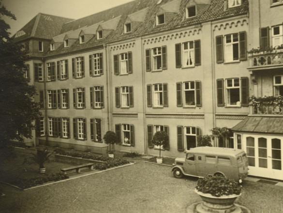 Das St.-Antonius-Hospital um 1935.