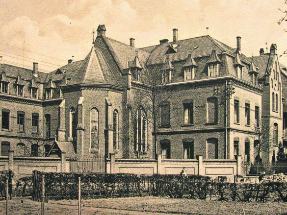 Das Marienhospital um 1900.