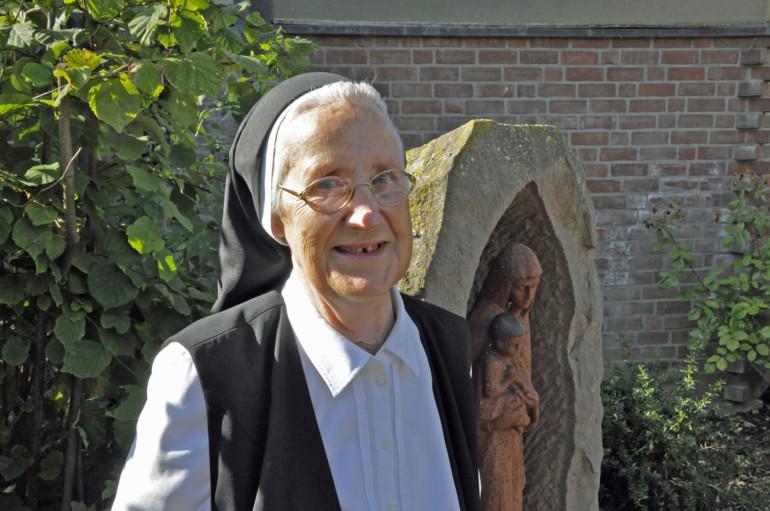 Die letzte Ordensschwester von St. Josef: Schwester Rita.