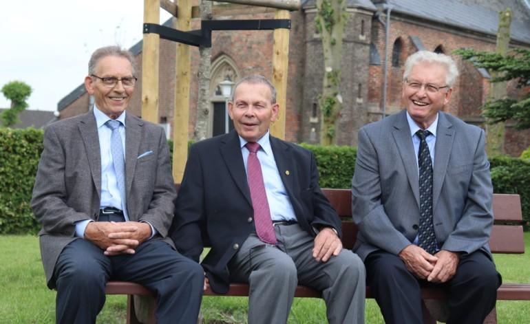 Aloys, Paul und Gerhard Janßen (v.l.)
