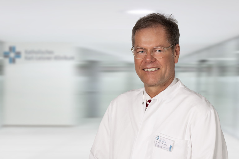 Chefarzt Dr. Frank P. Müller